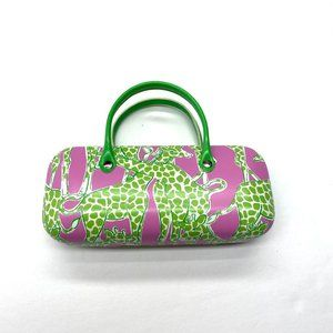 Lilly Pulitzer Giraffe Eyeglasses Case with Handle